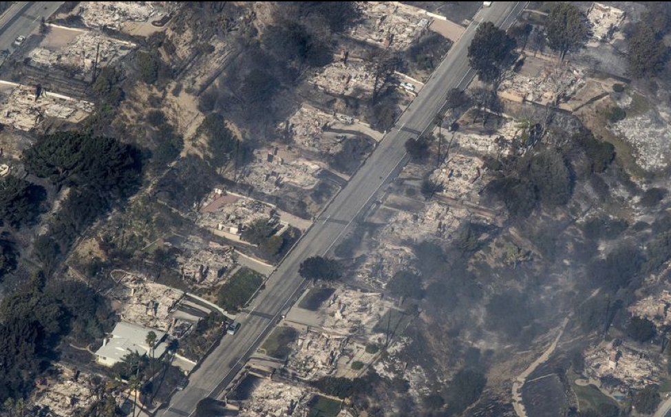 Neighborhood Destroyed by Thomas Fire